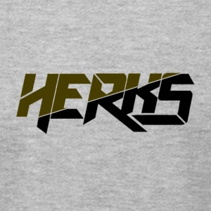 HerKs Military Text - Men's T-Shirt by American Apparel