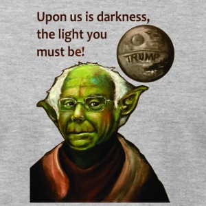 Yoda Bernie - Men's T-Shirt by American Apparel
