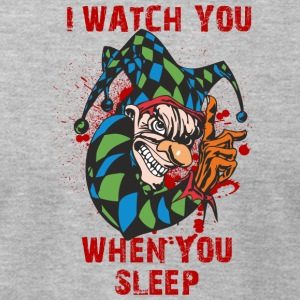 EVIL_CLOWN_2_WATCHING_ - Men's T-Shirt by American Apparel