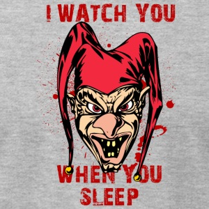 EVIL_CLOWN_6_watching - Men's T-Shirt by American Apparel