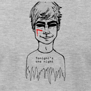 dexter (tonigh's the night) - Men's T-Shirt by American Apparel
