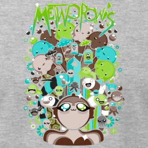 Metwopowis - Men's T-Shirt by American Apparel