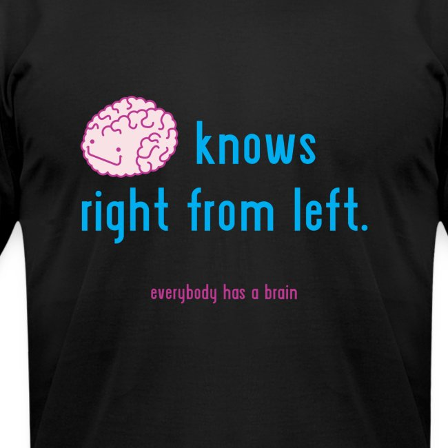 brain knows right from left