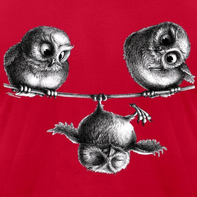 three owls - freedom and fun