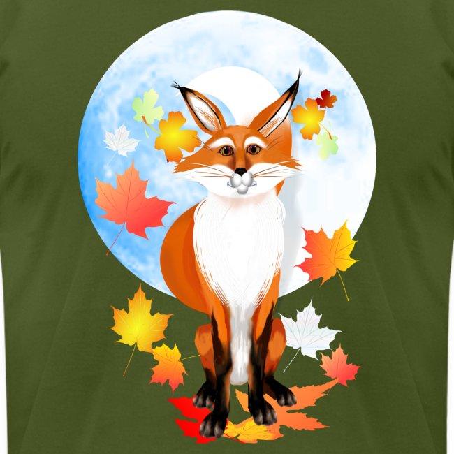 Fall Fox and Wolf Moon