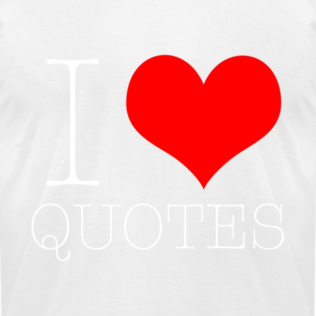 White I Heart Quotes