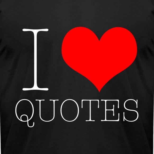 White I Heart Quotes