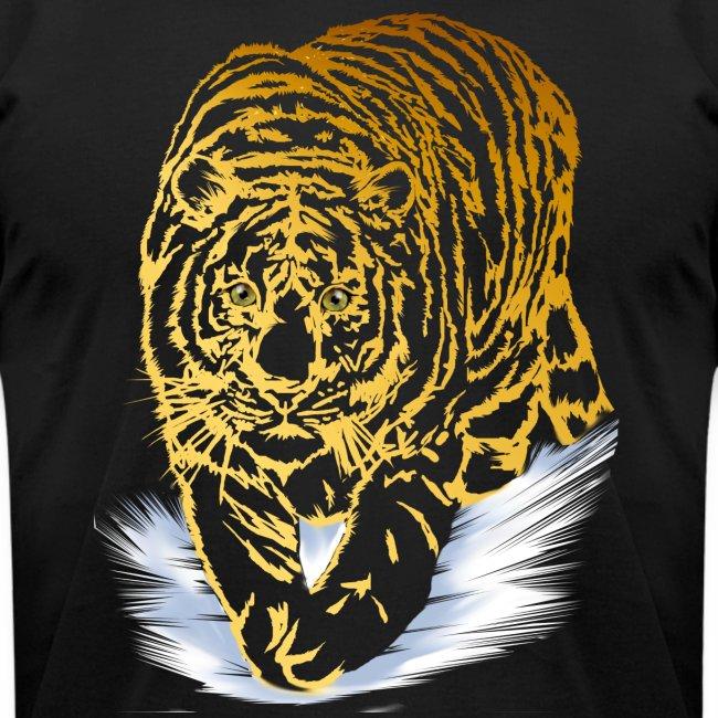 Golden Snow Tiger