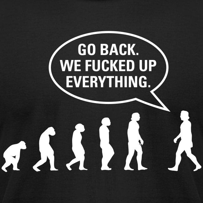 Fucked up Evolution