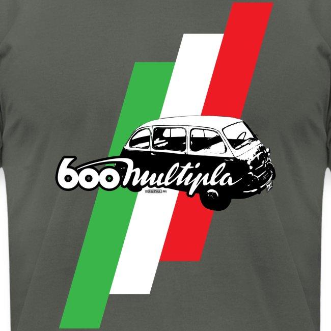 Fiat 600 Multipla script and illustration -