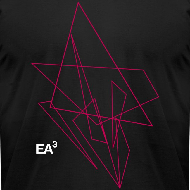 T Shirt EA3Triangles11 Bl