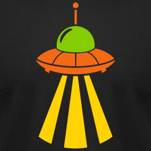 ufo invasion - Men's T-Shirt by American Apparel