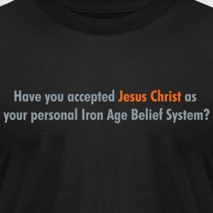 Have you accepted Jesus Christ - Men's T-Shirt by American Apparel
