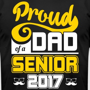 Proud Dad of a Senior MBA College Graduation Gift - Men's T-Shirt by American Apparel