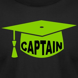 doctor hat captain - Men's T-Shirt by American Apparel