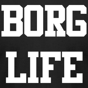 Borg Life - Men's T-Shirt by American Apparel
