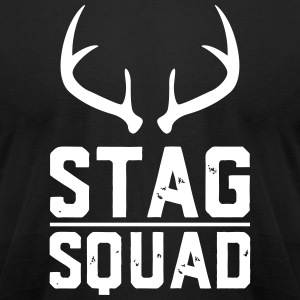 Stag Squad - Men's T-Shirt by American Apparel