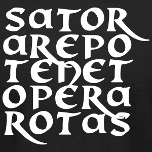 Sator Arepo Tenet Opera Rotas - Men's T-Shirt by American Apparel