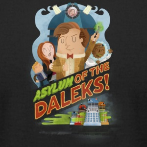 Asylum of the Daleks - Men's T-Shirt by American Apparel