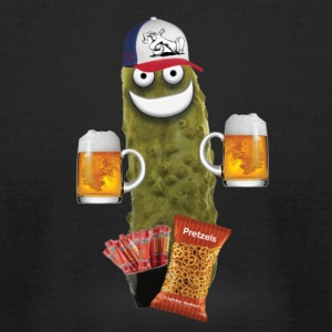 Drinking Buddy Pickle - Men's T-Shirt by American Apparel