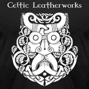 Green Man by Celtic Leatherworks - Men's T-Shirt by American Apparel