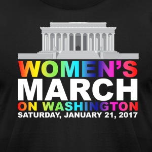 Women's March on Washington - Men's T-Shirt by American Apparel