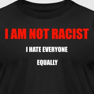 RACIST - Men's T-Shirt by American Apparel