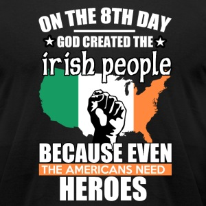 irish heros - Men's T-Shirt by American Apparel