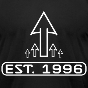 Established 1996 Dark - Men's T-Shirt by American Apparel