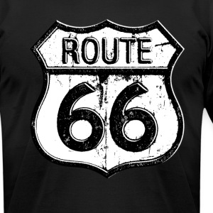 route66 - Men's T-Shirt by American Apparel