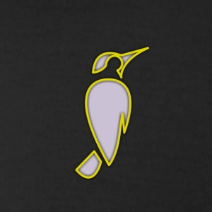 SPARROW Designs -neon yellow - Men's T-Shirt by American Apparel