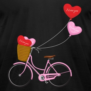 Valentine s Day love - Men's T-Shirt by American Apparel