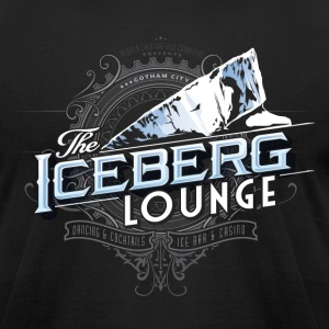 Iceberg Lounge - Men's T-Shirt by American Apparel