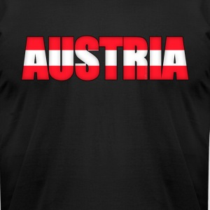 Austria Österreich - Men's T-Shirt by American Apparel