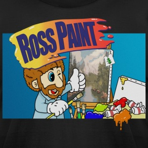 Ross Paint - Mario Paint Parody - Men's T-Shirt by American Apparel