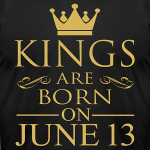 Kings are born on June 13 - Men's T-Shirt by American Apparel
