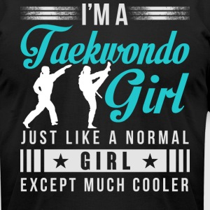 I'm Taekwondo Girl T Shirt - Men's T-Shirt by American Apparel