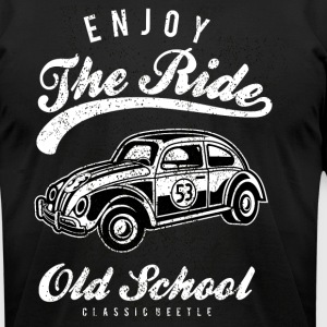 Enjoy The Ride - Men's T-Shirt by American Apparel