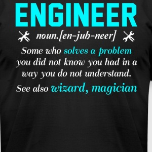 Engineer T Shirt - Men's T-Shirt by American Apparel