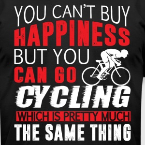 You Can Go Cycling T Shirt - Men's T-Shirt by American Apparel