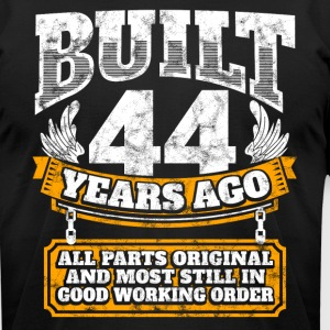 44th birthday gift idea: Built 44 years ago Shirt - Men's T-Shirt by American Apparel