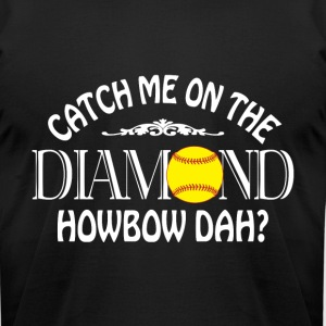 Catch Me On The Diamond T Shirt - Men's T-Shirt by American Apparel