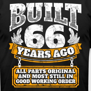 66th birthday gift idea: Built 66 years ago Shirt - Men's T-Shirt by American Apparel