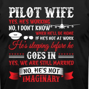 Pilot Wife T Shirt - Men's T-Shirt by American Apparel