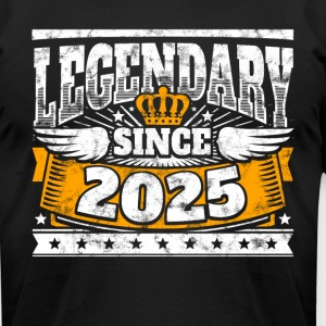 Legend Birthday: Legendary since 2025 birth year - Men's T-Shirt by American Apparel