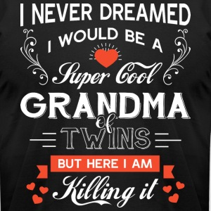 I'd Grow Up To Be A Cool Grandma T Shirt - Men's T-Shirt by American Apparel
