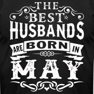 The best Husbands are born in May - Men's T-Shirt by American Apparel