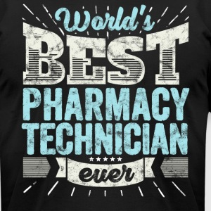 Worlds Best Pharmacy Technician Ever Funny Gift - Men's T-Shirt by American Apparel