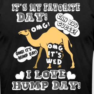 I Love Hump Day Camel Shirt - Men's T-Shirt by American Apparel