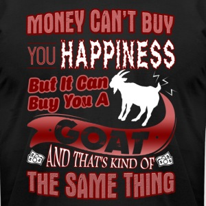 BUT IT CAN BUT YOU A GOAT - Men's T-Shirt by American Apparel